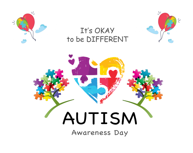 We Light It Up Blue For World Autism Awareness Day With